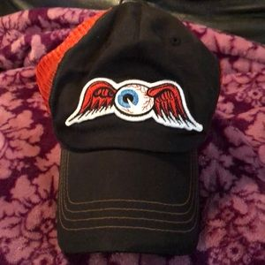 Von Dutch flying eyeball hat